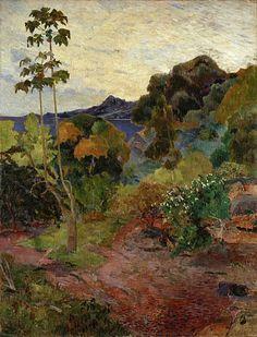 Gauguin, Paul, (1848-1903), Martinique Landscape, 1887, Oil