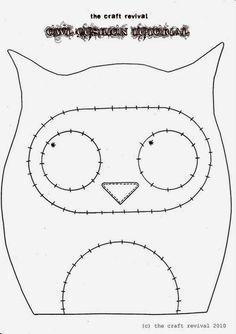Artesanato e Cia : Corujas- moldes , idéias e recadinho!