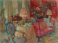 Susan Ryder  The Red Drawing Room  2011
