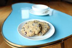 Zartbitter-Haferflocken-Cookies