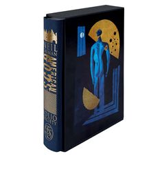 In conjunction with the TV debut next month of Neil Gaiman's American Gods, the Folio Society has released a new edition of the novel with fantastic illustrations by Gaiman's longtime collaborator Dave McKean. The beautiful edition includes 12 original illustrations and a decorative slipcase. The ba