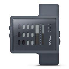 Nooka Zub Zayu Grey Watch