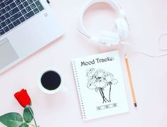 Show your mood tracker! Link in BIO! :) - @evoletjournal   #bulletjournal #bulletjournaladdict #bulletjournaljunkie #bujoemotions… Bullet Journal Junkies, Mood Tracker, Bujo, Addiction, Link