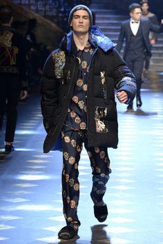 Dolce & Gabbana - Fall 2017 Menswear