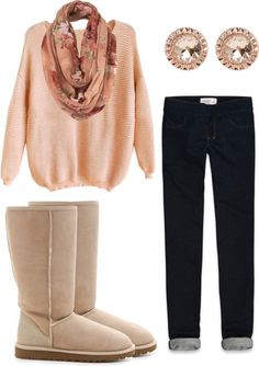 """SNow day(:"" by clojogar on Polyvore"