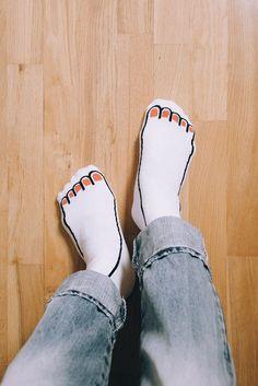 Image result for jean jullien instagram #socksoutfit