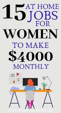 Ways To Earn Money, Earn Money From Home, Earn Money Online, Way To Make Money, Earning Money, Work From Home Companies, Work From Home Opportunities, Best Online Jobs, Online Work