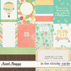 In the Clouds Cards by Amber Shaw