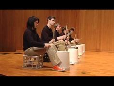 "The DePauw Percussion Ensemble - ""Bucket Drumming"" by Patrick Speranza - YouTube"