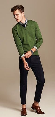 Smart Casual Style [mens fashion] // // From Smart Casual Outfit, Smart Casual Menswear, Men Casual, Casual Outfits, Smart Casual Men Work, Smart Casual Men Winter, Men's Outfits, Sweater Outfits, Mens Fashion Blog
