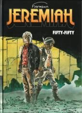 "Hermann, ""Fifty-fifty - Jeremiah"", t.30, éd. Dupuis."