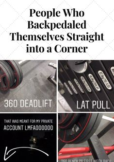 People Who Backpedaled Themselves Straight into a Corner # Backpedaled # Themselves  #Straight