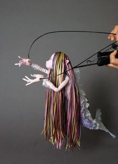 Oh! I could use this design for my FAIRY puppet!