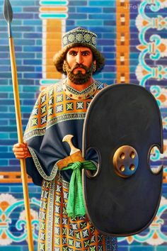 Darius III of Persia by JFoliveras on DeviantArt Ancient Mesopotamia, Ancient Civilizations, Persian Warrior, King Of Persia, Persian Architecture, Achaemenid, Ancient Persian, Ancient Near East, Persian Culture