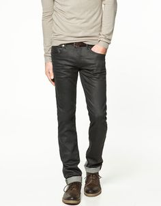 i love leather pant, but this jeans way better