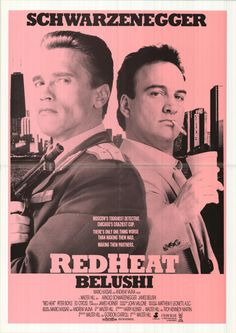 The Heat Movie Poster   Red Heat movie posters at movie poster warehouse movieposter.com