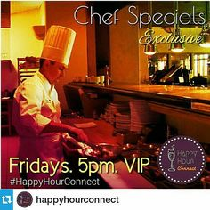 • 24/7 Happy Hour Connection • Restaurant & Bar Specials • Join the Network #HappyHourConnect #HappyHour Example of repost marketing for restaurants & bars. Happy Hour Connect for business provides...