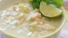 Paleo White Chicken Chili - healthy and delicious chili recipe! Paleo Recipes, Soup Recipes, Whole Food Recipes, Cooking Recipes, Chicken Recipes, Paleo Meals, Crockpot Meals, Clean Recipes, Easy Recipes