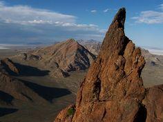 Volcano Peak, out by the Salt Flats, #Utah