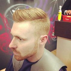 30 Best Comb Over Fade Haircuts Guide] - Haare - Haar Design Mens Hairstyles Fade, Side Part Hairstyles, Cool Hairstyles, Hairstyle Images, Medium Hairstyles, Hairstyle Ideas, Wedding Hairstyles, Short Sides Haircut, Side Haircut