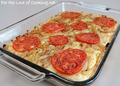 ... of Cooking » Caramelized Onion, Tomato, and Asiago Cheese Focaccia