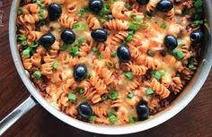 One-Pan Enchilada Pasta | #PurifyYourLife with Winona Pure Oils