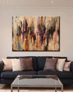 pintura original de la pintura de acrílico sobre por artbyoak1