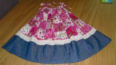 CharliegirlCrafts: Pretty upcycled Birthday Dress