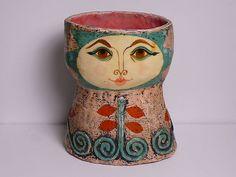 Gemma Taccogna Papier mache vase