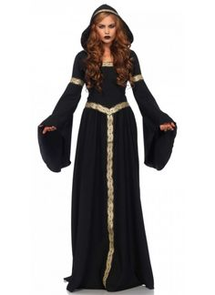 Go out this Halloween with this stellar Pagan Witch costume! This costume includes a long hooded cloak with a lace up back. Check out the Stagecoach for any additional accessories. Check out our other Witch costumes! Costumes Sexy Halloween, Witch Costumes, Halloween Kostüm, Gothic Halloween, Christmas Costumes, Cosplay Costumes, Dresses Elegant, Witches Costumes For Women, Witches