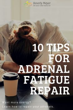 Adrenal Fatigue Tips: Learn how to treat adrenal fatigue. 10 Tips and Supplements for Adrenal Fatigue Repair. Are you feeling tired and suffering from adrenal fatigue? Learn adrenal fatigue tips and how to treat adrenal fatigue naturally. If you are feeling extra tired, read on for more tips to treat your adrenal fatigue naturally. Adrenal Fatigue, Adrenal Health, Adrenal Glands, Feel Tired, How Are You Feeling, Insomnia, Anxiety, Tips, Healthy