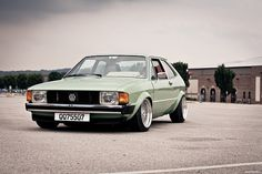 MK1 Scirocco very early (pre 1976) with square headlamps