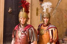 """James Purefoy """"Antony"""" and Kevin McKidd """"Lucius Vorenus"""" Ancient Rome, Ancient Greece, Ancient History, As Roma, Rome Tv Series, Hbo Series, Rome Hbo, Roman Armor, James Purefoy"""