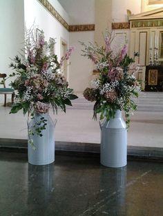 Matching church arrangements