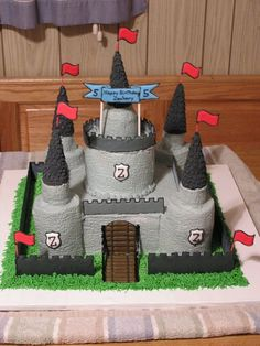 Medeval Castle cake