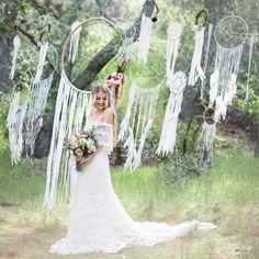 Dream catchers for wedding decor / Ловцы снов в оформлении свадьбы - Ярмарка Мастеров - ручная работа, handmade