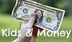 Teaching Kids about Money-through teenage years