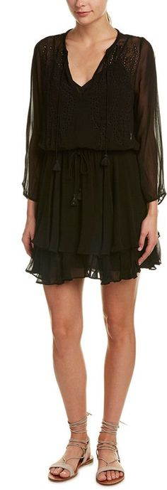 Ella Moss Trellis Vine Shift Dress