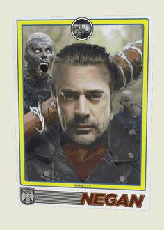 Now batting: No. 1 in The Saviors line-up, Negan, and his amazing bat, Lucille! Though we doubt you're going to feel like noshing on peanuts and Cracker Jacks when this bad boy and his bat make their debut in the souped-up, 90-minute Season 6 finale of The Walking Dead on April 3.  The leather-jacketed