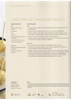 Livro Bimby - Bolos e Sobremesas Cake Pops, Chocolates, Mousse, Recipies, Sweets, Party, Food, Drinks, Birthday Cakes