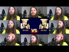 I cant help but sing along.  Street Fighter 2 - Guile Theme Acapella - YouTube
