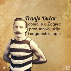 Začetnik hrvatskog sporta, sportski pisac i profesor Franjo Bučar rodio se na današnji dan prije 150 godina.