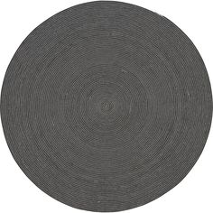 circle rug 6' in rugs   CB2   Dining Room Rug