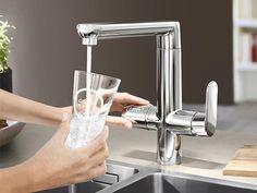 GROHE Blue® gefilterd,gekoeld en bruisend waterkraan - Product in beeld - Startpagina voor keuken ideeën | UW-keuken.nl