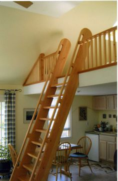 Loft ladder and railing | by cannworks