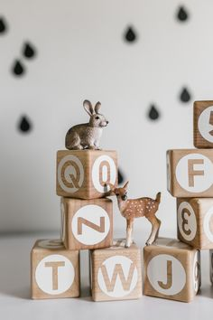 26 Alphabet blocks with Numbers and Math Symbols ABC 123 Wooden Stacking Building Counting Math Baby Scandinavian Minimal- Birthday gift Baby Name Blocks, Grandma Crafts, Daisy Cakes, Wooden Rabbit, Alphabet Blocks, Just Peachy, Play Food, Wooden Blocks, Wood Toys