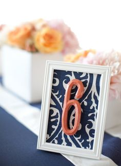 great table numbers