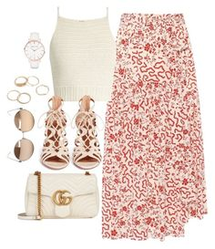 """Untitled #4154"" by magsmccray on Polyvore featuring Isabel Marant, SHE MADE ME, Aquazzura, Gucci, Linda Farrow and Abbott Lyon"