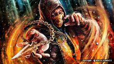Mortal Kombat | Scorpio | Wallpaper