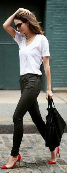fille skinny dans la rue